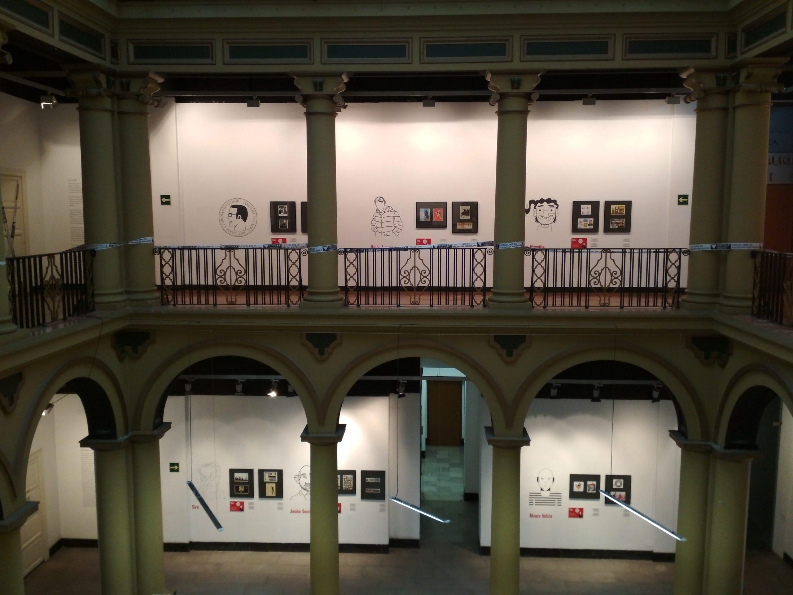 Desde Coruña con Humor - Exposición