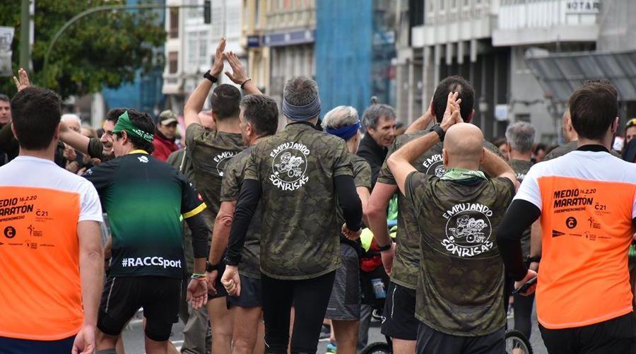 Media Maraton Coruña