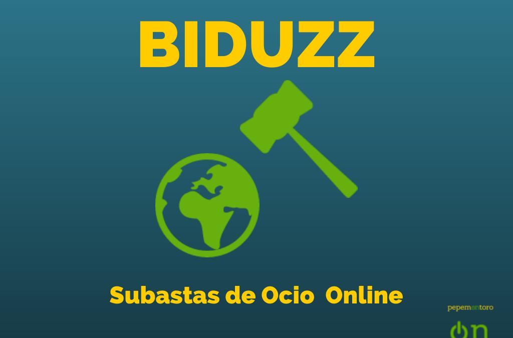 Biduzz: Plataforma On Line De Subastas De Ocio y Viajes