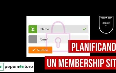 Planificando un membership site para comenzar bien