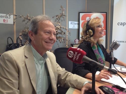 Nieves Herrero y Pepe Plana en Capital Radio