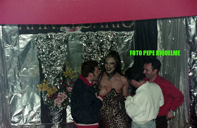 Jesús Vázquez actuó en la discoteca gay Metropol de Murcia