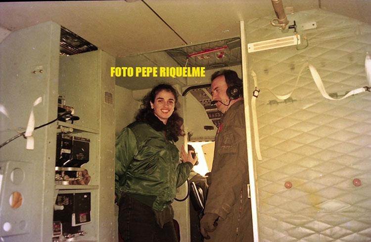 Jorge Sanz estuvo en Alcantarilla a 2000 metros sin paracaídas