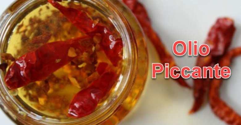 come fare olio piccante peperoncino