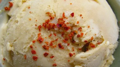 gelato al peperoncino