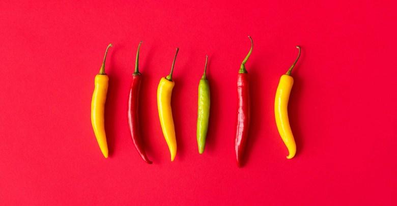 quando raccogliere i peperoncini-rosso-giallo-verde
