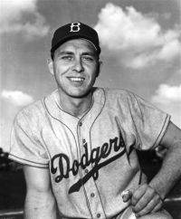 Gilbert Raymond Hodges, Brooklyn Dodgers