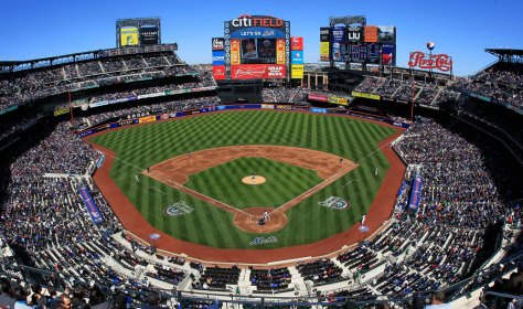 NEW YORK, NY - APRIL 07: A general view of game between the New York Mets and the Atlanta Braves at Citi Field on April 7, 2012 in the Flushing neighborhood of the Queens borough of New York City. (Photo by Chris Trotman/Getty Images)