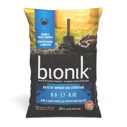 Bionik compost marin et forestier