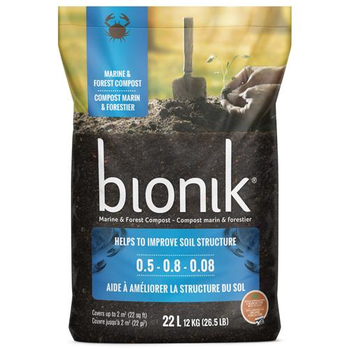 Compost marin et forestier Bionik