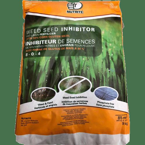 Inhibiteur de semences de mauvaises herbes - Gluten de mais