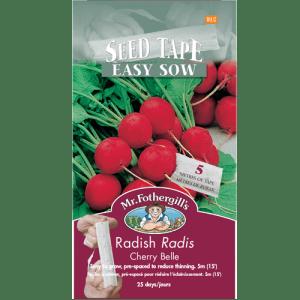 Radis Cherry Belle RUBAN – Mr.Fothergill's