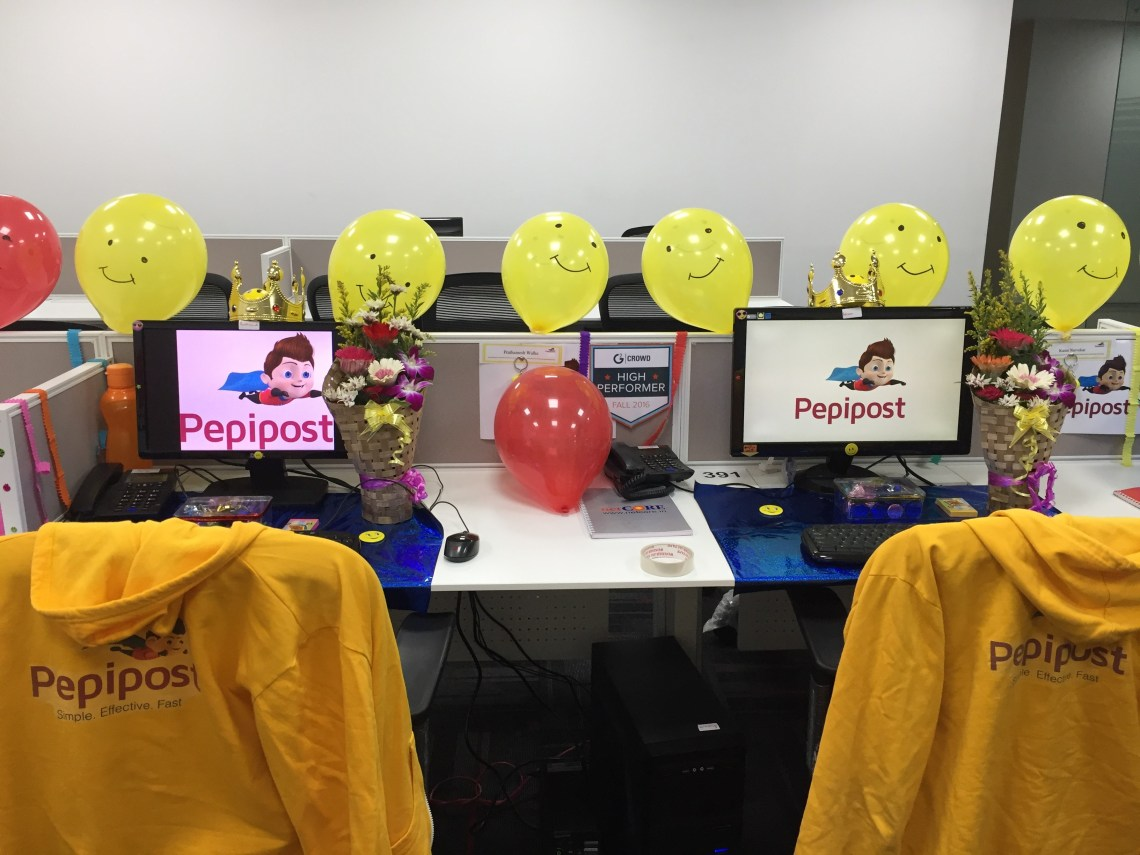 Pepipost celebration of customers