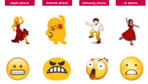 emoji different browsers