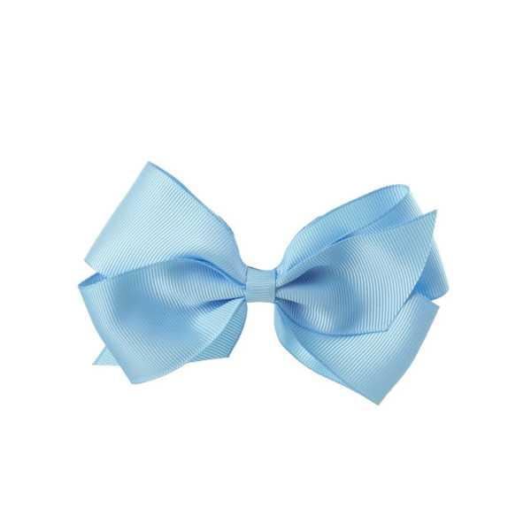 lazo pelo azul claro