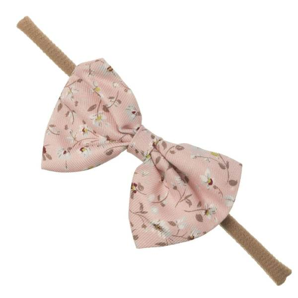 turbante lazo rosa
