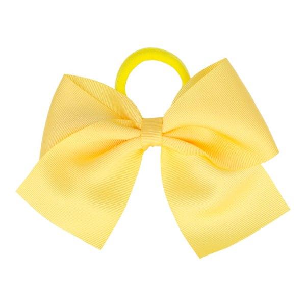 goma de pelo amarillo pollo