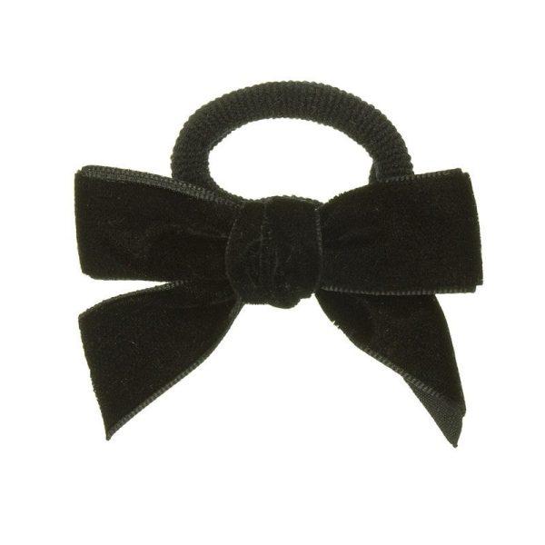 goma de pelo terciopelo negro