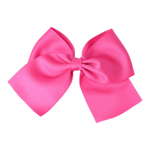 lazo pelo niñas rosa fucsia