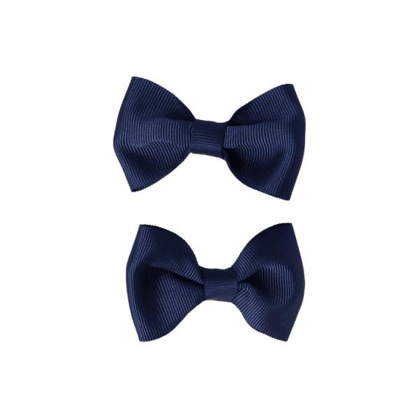 pinzas de pelo azul marino