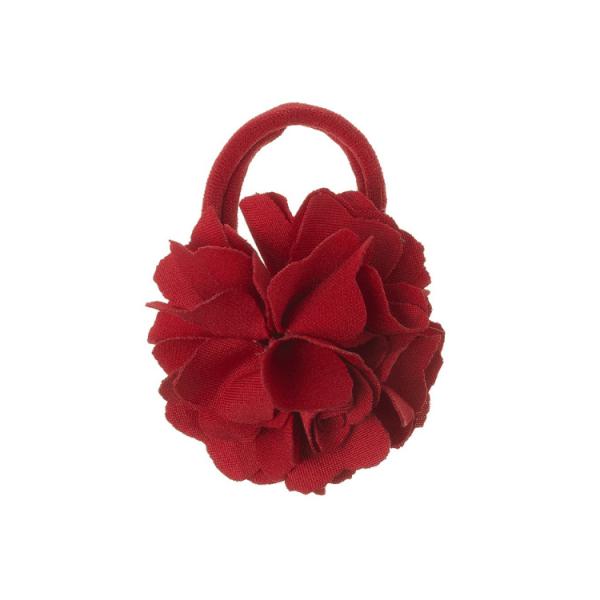 coletero flor lycra rojo