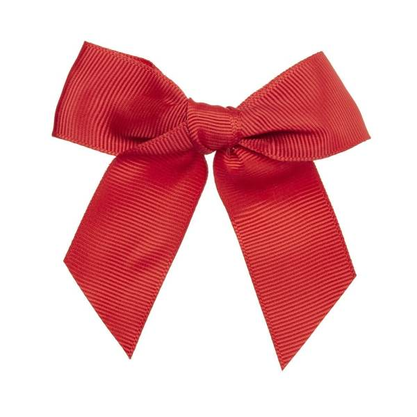 lazos de pelo para niñas rojo