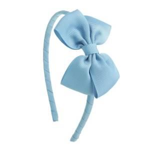 diadema lazo niñas azul francia