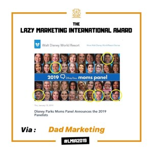 Copie de Dad Marketing - Disney