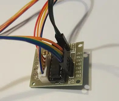 RPI motor driver wiring