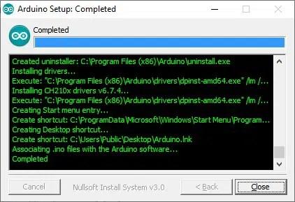 Arduino IDE Windows setup (4)