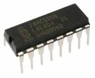 74hc595 shift register chip