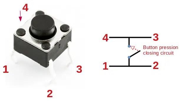 Switch Button internal circuit