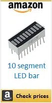 Amazon 10 segment led bar box