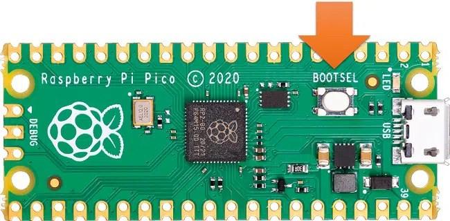 Raspberry PI Pico BOOTSEL button