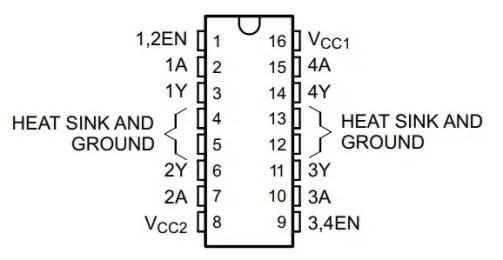 L293D pinout