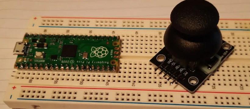 raspberry pi pico analog joystick featured image