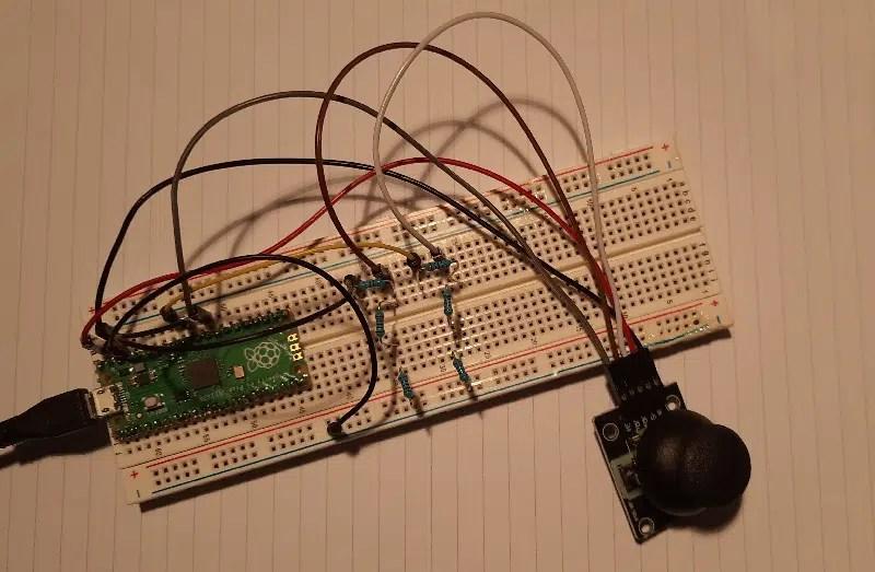 raspberry pi pico analog joystick overall