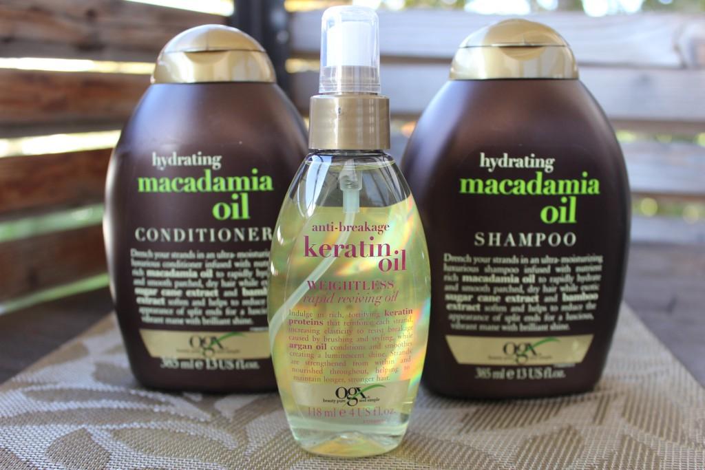 Jenni Testet Organix Macadamia Oil Shampoo Und