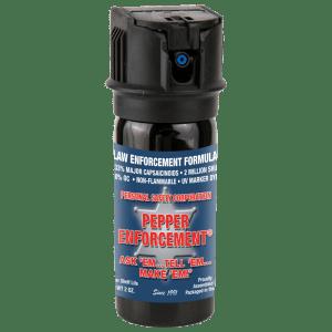 Pepper Enforcement® Brand Pepper Spray Law Enforcement Formula - 2 oz canister