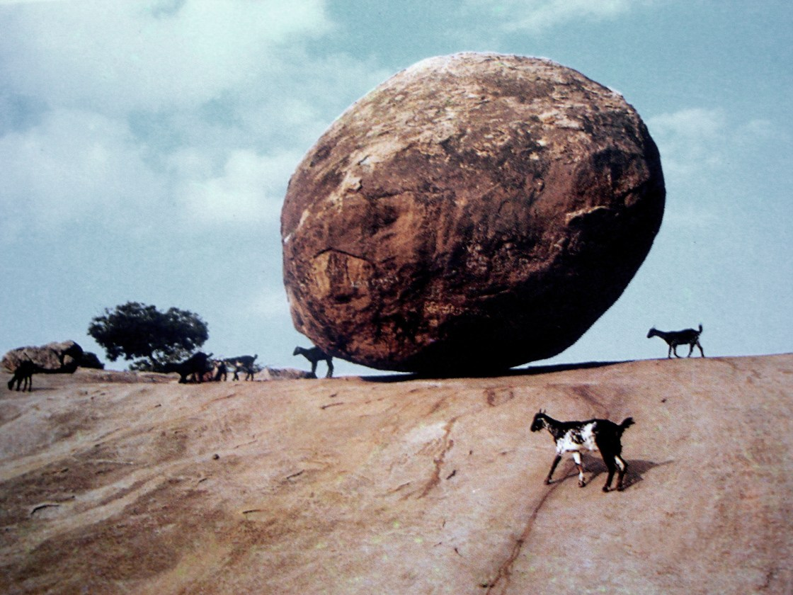 Krishna's Butter Ball - Balancing Rock