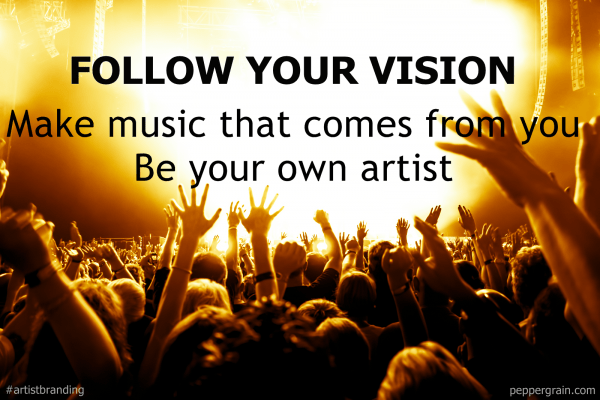 follow your vision_artist branding