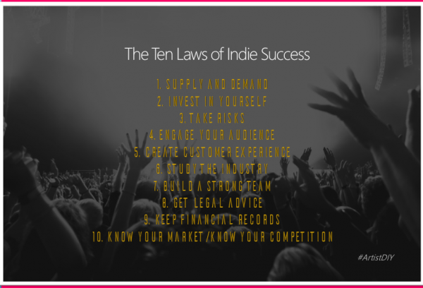the ten laws of indie success