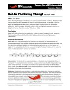 Get-In The Swing Thang (FUNdamentals) Small Group Bundle