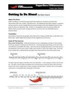 Gettin In Da Blues (FUNdamentals) 2 Horn