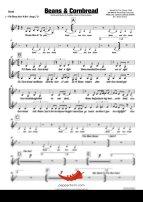 Beans and Cornbread (Joe Morris Orchestra) 4 Horn Alto