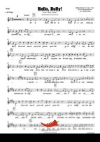 Hello Dolly (Bobby Darin) 4 Horn Trumpet II
