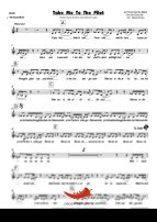 Take Me To The Pilot (Elton John) 4 Horn Alto