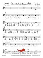 Advance Australia Fair (Freebie) Choir (SATB)