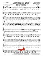 Jump Down Spin Around (PepperHorn Standards) 4 Horn Alto
