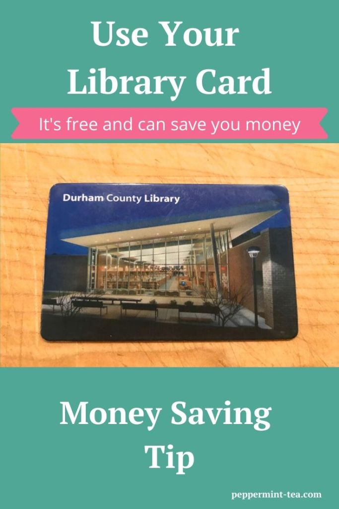 Money Saving Tip: Use Your Library Card